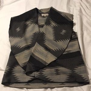 NWT Woman Within Southwestern Vest